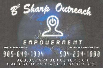 Better business promotions solutions group atlanta at bbpsg empowerment b sharp outreach ministries ministry love in new orleans hurricane katrina reheart Image collections